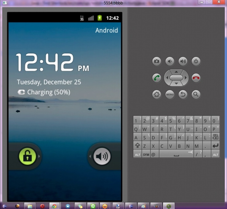 Emulator android 2.3.3